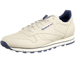 2ae719e04c0efe Buy Reebok Classic Leather ecru navy from £25.92 – Best Deals on ...