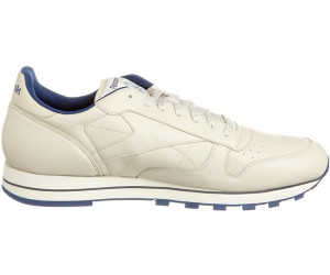11802b6c15fe9 Buy Reebok Classic Leather ecru navy from £30.75 – Best Deals on ...