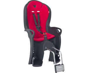 Fahrrad Kinder Sitz Hamax Kiss schwarz//rot Befestigung am Rahmenrohr für hinten