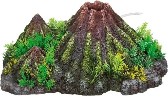 Nobby Aqua Ornaments ´´VULKAN´´ mit Pflanzen 28338