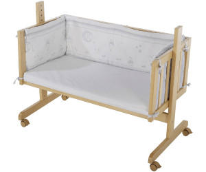 roba beistellbett gl cksengel ab 101 41 preisvergleich bei. Black Bedroom Furniture Sets. Home Design Ideas