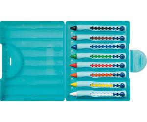 Etui mit 8 Farben Pelikan griffix® Wachsschreiber Stufe 1