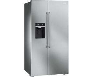 Smeg Kühlschrank Doppeltür : Smeg sbs xed ab u ac preisvergleich bei idealo