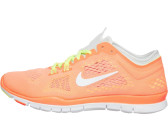 Nike Free 3.0 Flyknit Schwarz/Hyper-orange/Volt/Segeltuch