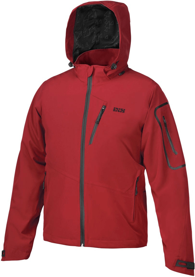 IXS Sinister 3.5 BC Jacket red
