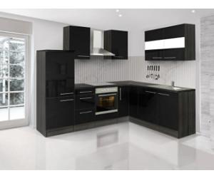 respekta premium l k che eiche grau schwarz 260x200 cm ab preisvergleich bei. Black Bedroom Furniture Sets. Home Design Ideas