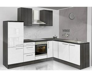 respekta premium l k che eiche grau wei 260x200 cm ab preisvergleich bei. Black Bedroom Furniture Sets. Home Design Ideas