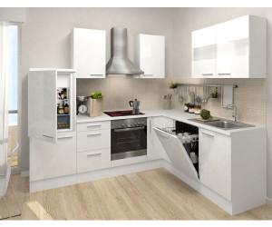 Küche In Weiß respekta premium l küche 260x200 cm ab 1 080 98 preisvergleich