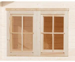 Weka Doppelfenster für 45 mm 138 x 79 cm