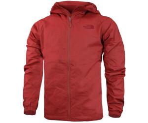 the north face hoodie jacke herren rot schwarz