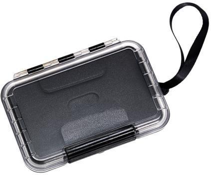 #B&W Outdoor Case Typ 200 schwarz/transparent#