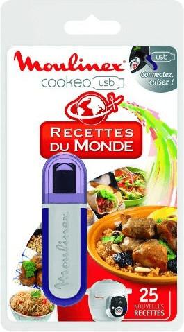 Image of Moulinex cookeo USB World Recipes