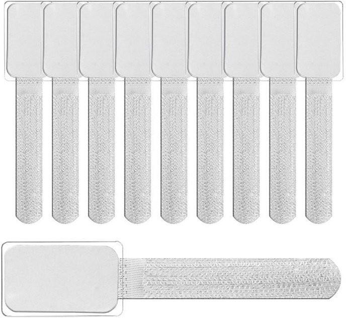 LTC Klett-Kabelbinder weiß