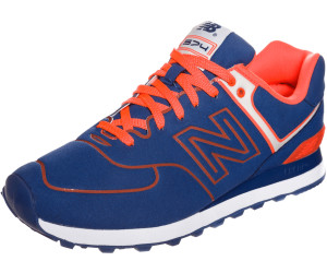 hot sale online 7fe89 5855b Buy New Balance 574 blue/orange (ML574NEL) from £74.90 ...