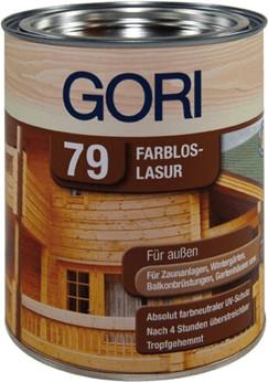Gori 79 Farblos-Lasur 750 ml