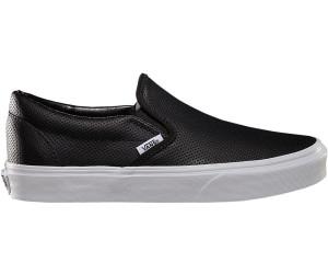 Vans Slip On Perf Leather black au meilleur prix sur