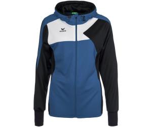 Erima Damen Premium One Trainingsjacke mit Kapuze new royal