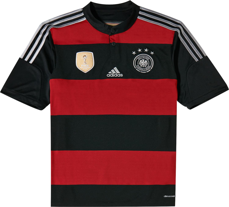 Adidas Deutschland Away Trikot 4 Sterne Junior