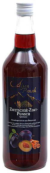 Nannerl Zwetschge-Zimt-Punsch 1l 32%