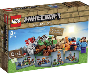 lego minecraft crafting box 21116 ab 94 99. Black Bedroom Furniture Sets. Home Design Ideas