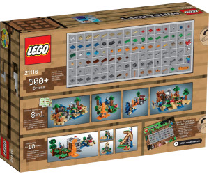 buy lego minecraft creative box 21116 from. Black Bedroom Furniture Sets. Home Design Ideas