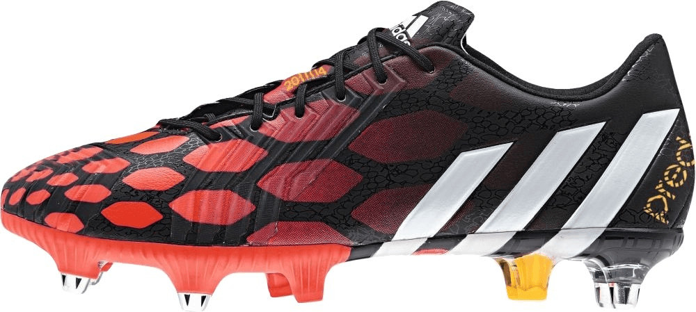 adidas Botas de fútbol Predator Instinct SG hombres  - Rojo Y Púrpura