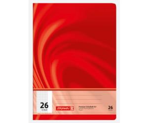 BRUNNEN Schulheft A4 Vivendi Lin 20 unliniert 16 Blatt 90 g//m² 10-4472002 NEU