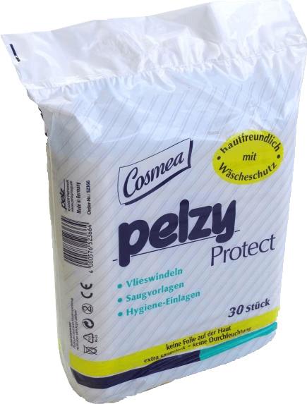Pelz Cosmea Pelzy Protect Vlieswindeln (30 Stk.)