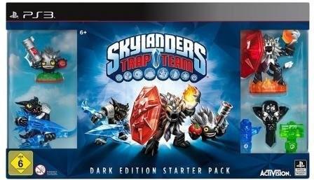Skylanders: Trap Team - Dark Edition Starter Pa...