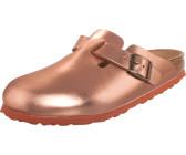 Birkenstock BOSTON Pantolette flach metallic copper Damen