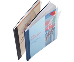Buchbindemappe Leitz Hardcover Classic blau 10-35  Blatt
