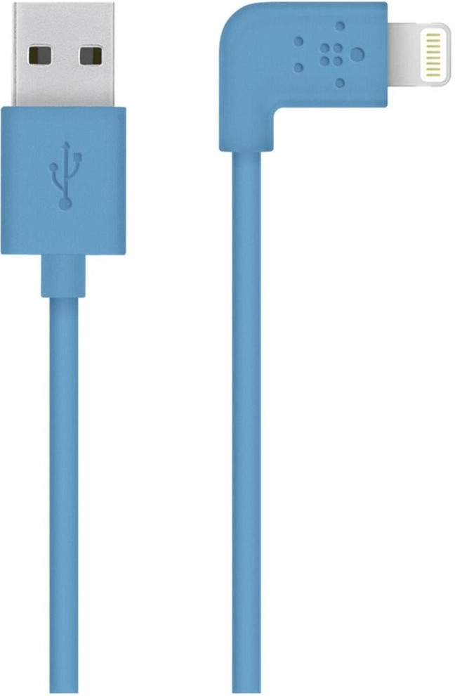 Image of Belkin Cavo Lightning con connettore a 90° (1,2 m) blu