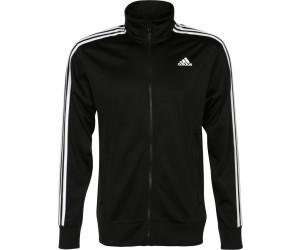 3 Streifen Herren Trainingsjacke in Schwarz und Weiß| adidas