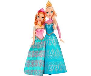 mattel coffret duo anna elsa la reine des neiges bdk37 - Barbie Reine Des Neiges