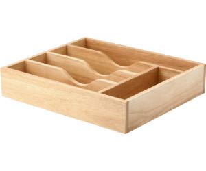 continenta besteckkasten aus gummibaumholz 35 x 30 ab 26 96 preisvergleich bei. Black Bedroom Furniture Sets. Home Design Ideas