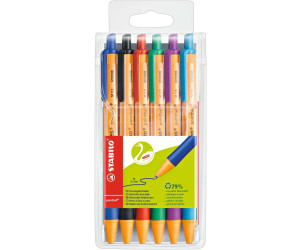 Stabilo Pointball Verschiedenen Farben Druckkugelschreiber Kunststoffetui Umwelt