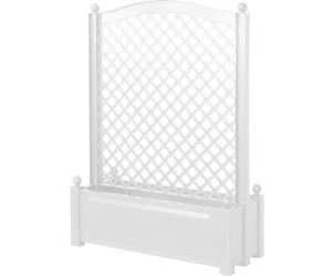khw pflanzkasten mit spalier zentral 100 x 140 cm wei ab 69 99 preisvergleich bei. Black Bedroom Furniture Sets. Home Design Ideas