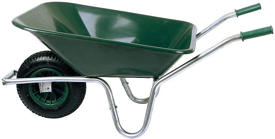 SZ Metall Schubkarre 80 l grün