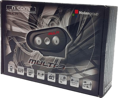 Nolan N-Com Bluetooth Multi Kit 3 Solo