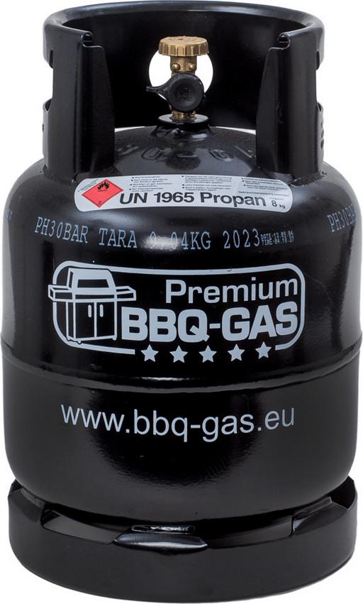 Premium BBQ-GAS Propangasflasche 8 kg