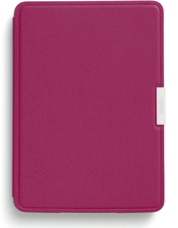 Kindle Paperwhite Leather Cover pink