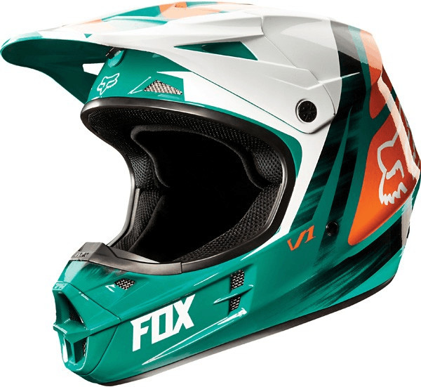 FOX V1 Vandal Kinder Motocross Helm