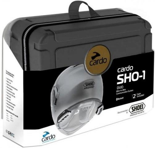 CARDO Helm-Headset für SHOEI SHO-1 Duo