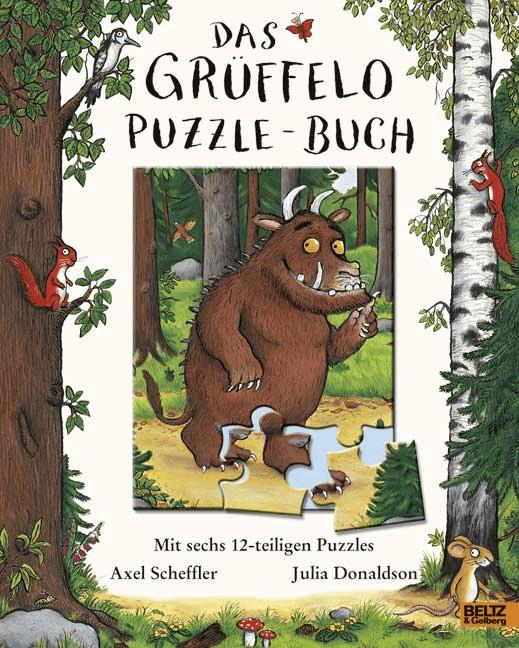 Beltz Das Grüffelo-Puzzle-Buch: Mit sechs 12-teiligen Puzzles
