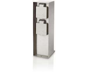philips sockel doppelsteckdose auckland 171084716 ab 36 89 preisvergleich bei. Black Bedroom Furniture Sets. Home Design Ideas