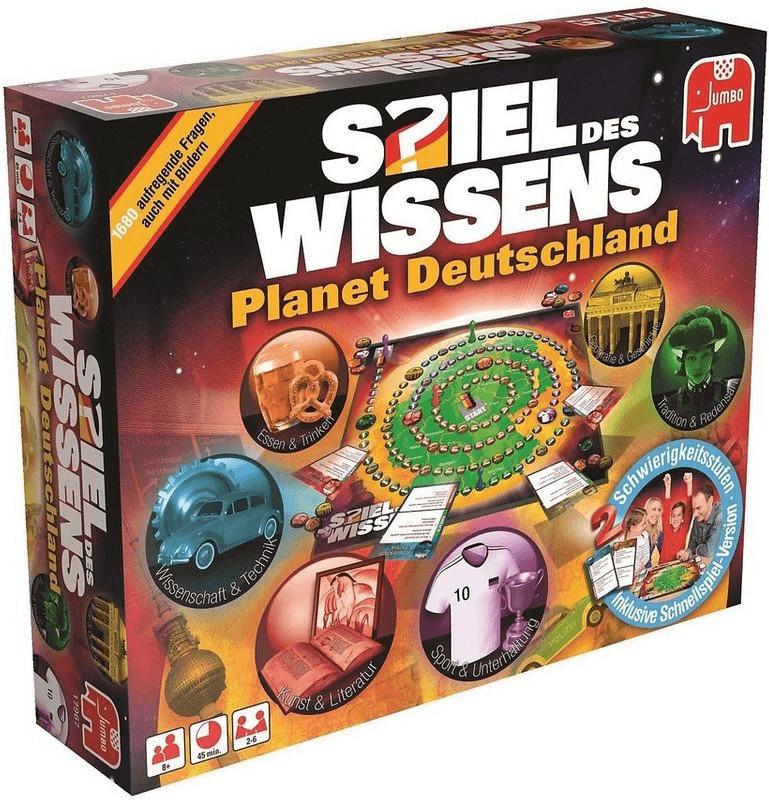 Jumbo Spiel des Wissens Planet Deutschland