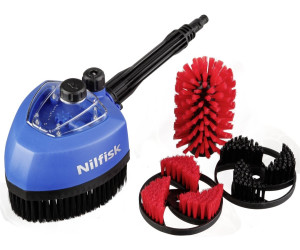 Nilfisk Multibrosse Rotative avec Kit Auto et Jardin pour Nettoyeur Haute Pression
