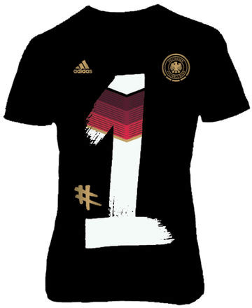 Adidas DFB Homecoming T-Shirt Kinder