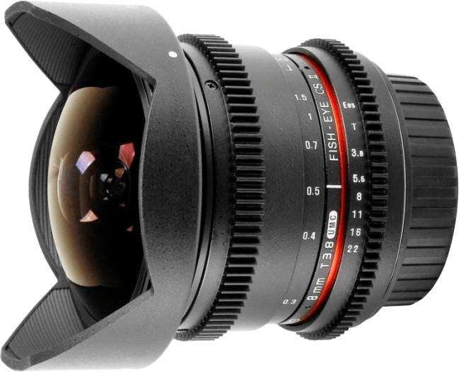 Samyang 8mm T3.8 VDSLR UMC Fish-eye CS II Pentax K