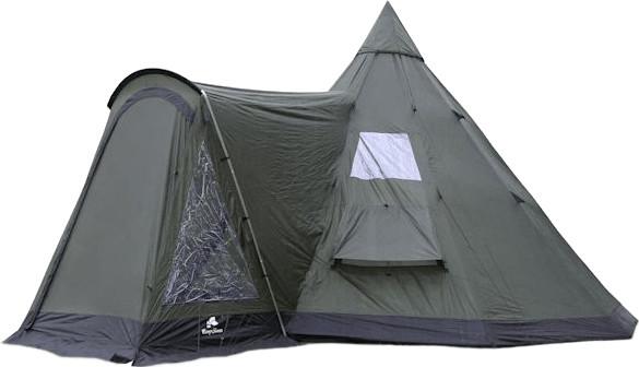 CampFeuer Tipi Zelt mit Vorbau